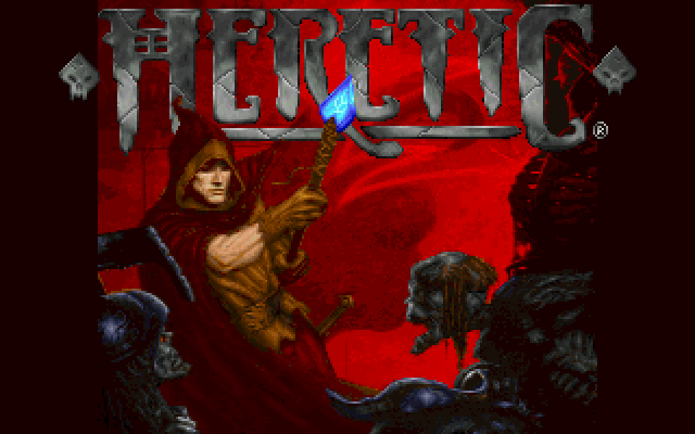 Heretic [Falcon030] atari screenshot